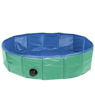 Doggy Pool,160x30cm, blau/rot