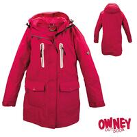 OWNEY Damen-Parka Arnauti, vintage red