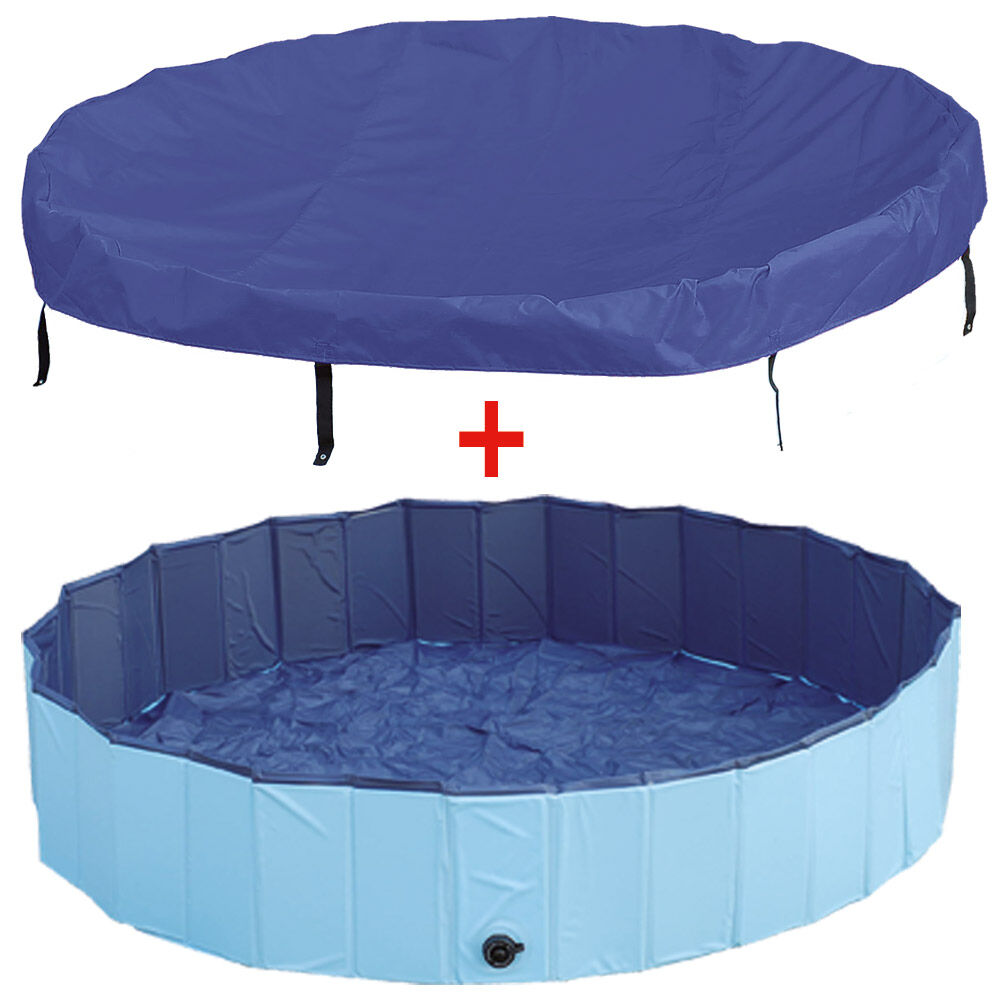doggy pool abdeckung planschbecken swimming pool hunde pool komplett ebay. Black Bedroom Furniture Sets. Home Design Ideas